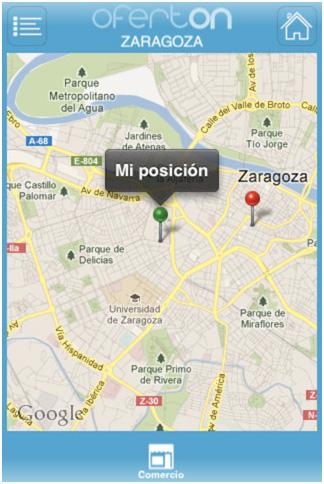 Herramienta Gratuita para promocionar Geolocalización de Ofertas. Ofertón Cámara Comercio